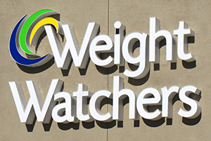 Weight Watchers logo on building
